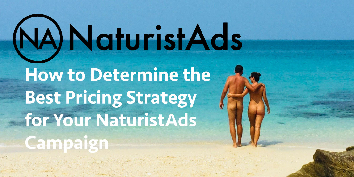 How to Determine the Best Pricing Strategy for Your NaturistAds Campaign