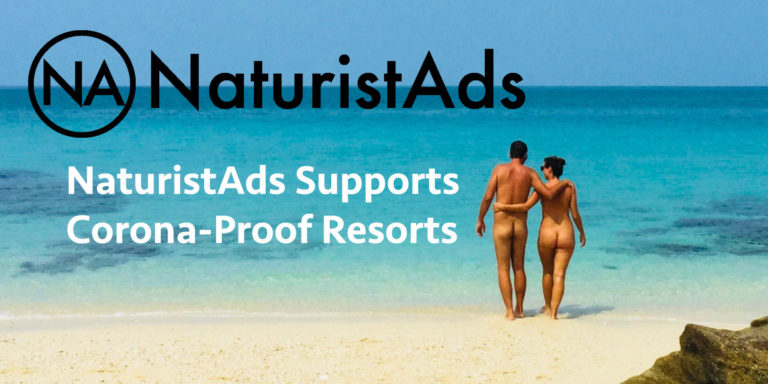 NaturistAds Supports Corona-Proof Resorts